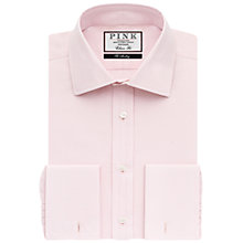 Buy Thomas Pink Frederick Plain Classic Fit Double Cuff Shirt Online at johnlewis.com