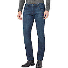 Buy Reiss Stuge Slim Jeans, Indigo Online at johnlewis.com