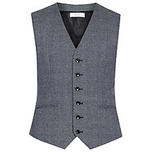 Buy Reiss Morrow Mottled Wool Slim Fit Waistcoat, Indigo Online at johnlewis.com