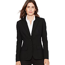 Buy Lauren Ralph Lauren Kenosta Blazer, Black Online at johnlewis.com