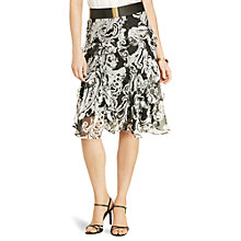 Buy Lauren Ralph Lauren Giakeshi Skirt, Black/Pearl Online at johnlewis.com
