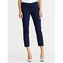 Buy Lauren Ralph Lauren Starka Skinny Trousers Online at johnlewis.com