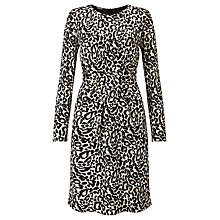 Buy Gerry Weber Leopard Print Dress, Ecru/White/Black Online at johnlewis.com