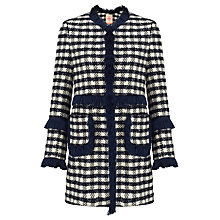 Buy Vilagallo Megan Jacket, Navy Chess Online at johnlewis.com
