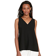 Buy Lauren Ralph Lauren Kelechi Top, Black Online at johnlewis.com