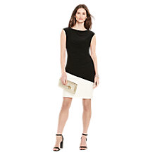 Buy Lauren Ralph Lauren Keva 2-Tone Dress, Lauren White/Black Online at johnlewis.com