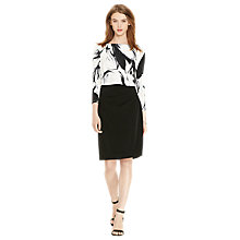 Buy Lauren Ralph Lauren Lenari Dress, Black/Grey Online at johnlewis.com