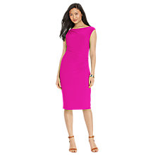Buy Lauren Ralph Lauren Vannalynn Dress, Cosmopolitan Pink Online at johnlewis.com