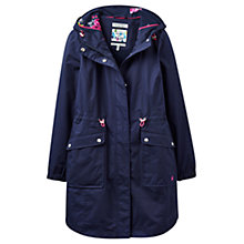 Buy Joules Right as Rain Raina Waterproof Parka, Navy Online at johnlewis.com