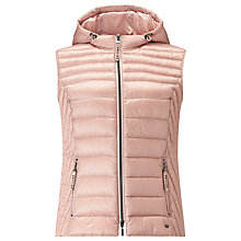 Buy Gerry Weber Down Filled Hooded Gilet Online at johnlewis.com