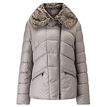 Buy Gerry Weber Padded Self Spot Jacket, Nut Online at johnlewis.com