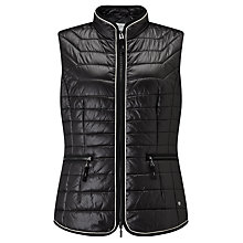 Buy Gerry Weber Padded Gilet, Black Online at johnlewis.com