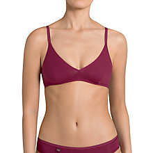 Buy Sloggi EverNew Soft Bra, Dark Wine Online at johnlewis.com