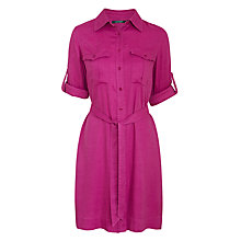 Buy Lauren Ralph Lauren Shiresie Shirt Dress, Wild Berry Online at johnlewis.com