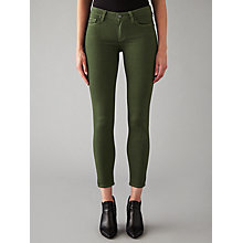 Buy Paige Verdugo Super Skinny Jeans, Army Online at johnlewis.com