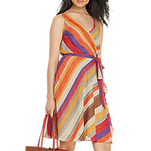 Buy Lauren Ralph Lauren Charnika Dress, Multi Online at johnlewis.com
