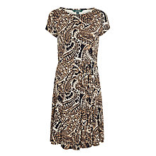 Buy Lauren Ralph Lauren Zuri Dress, Black Multi Online at johnlewis.com