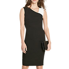 Buy Lauren Ralph Lauren Floria Dress, Black/White Online at johnlewis.com