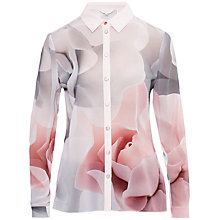 Buy Ted Baker Tanisha Porcelain Rose Shirt, Pink Online at johnlewis.com