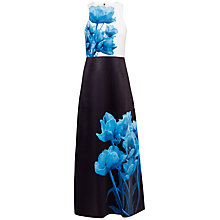 Buy Ted Baker Niriah Blue Beauty Maxi Dress, Black Online at johnlewis.com