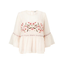 Buy Miss Selfridge Embroidered Gypsy Blouse Online at johnlewis.com