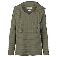 Buy Fat Face Textured Knitted Hoodie Online at johnlewis.com