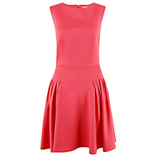 Buy Closet Fit And Flare Dress, Coral Online at johnlewis.com