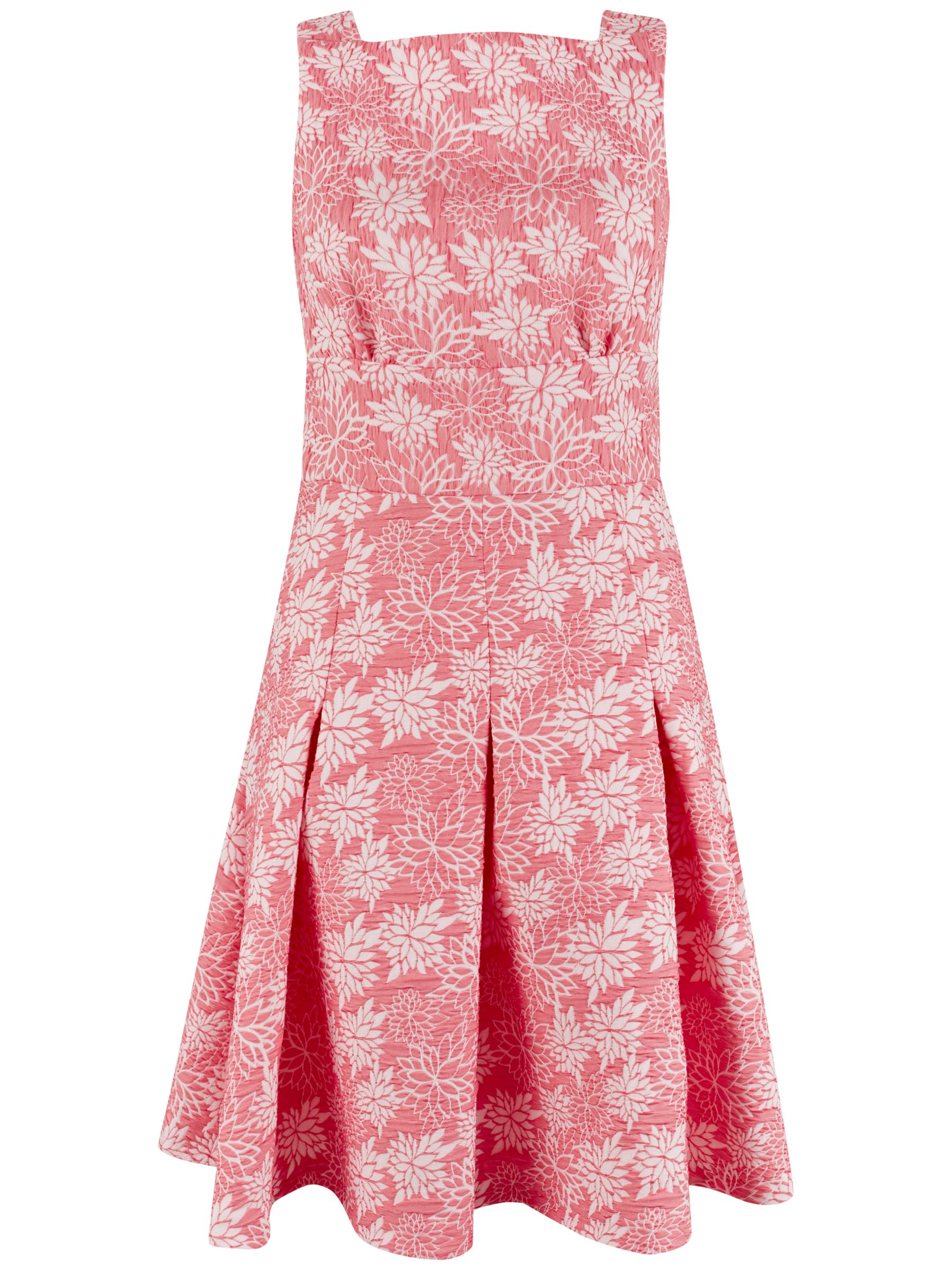 Closet Closet Sleeveless Floral Dress, Pink