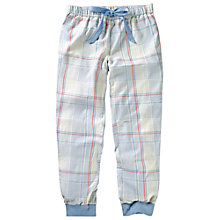 Buy Fat Face Westbury Striped Cuff Pyjama Bottoms, Ivory Online at johnlewis.com