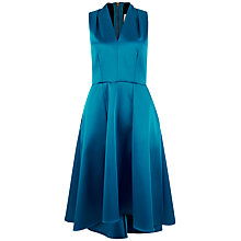 Buy Closet High Low V-Neck Dress, Blue Online at johnlewis.com