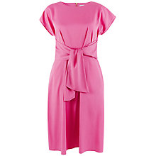 Buy Closet Tie Front Dress, Pink Online at johnlewis.com