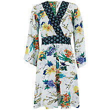 Buy Closet Bird Print Kimono Dress, Multi Online at johnlewis.com