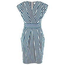 Buy Closet Stripe Cross Over Dress, Multi Online at johnlewis.com