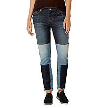 Buy Karen Millen Limited Edition Patchwork Jeans, Denim Online at johnlewis.com