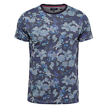 Buy Ted Baker Mushrum Floral Print T-Shirt Online at johnlewis.com