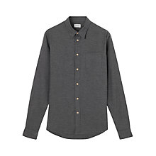 Buy Jigsaw Flannel Melange Slim Shirt Online at johnlewis.com