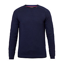 Buy Ted Baker Potter Crew Neck Jumper, Navy Online at johnlewis.com