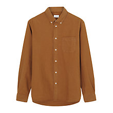 Buy Jigsaw Dye Bound Edge Oxford Shirt Online at johnlewis.com