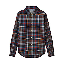 Buy Jigsaw Oversized Checked Shirt, Multi Online at johnlewis.com