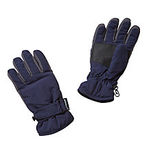 Buy John Lewis Children's Ski Gloves, Navy Online at johnlewis.com