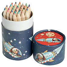 Buy Rex Spaceboy Colouring Pencil Set Online at johnlewis.com