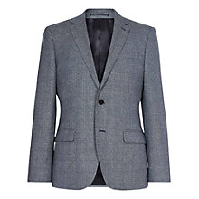 Buy Reiss Morrow Mottled Wool Slim Fit Suit Jacket, Indigo Online at johnlewis.com