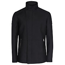 Buy Reiss Stardust Funnel Collar Jacket, Navy Online at johnlewis.com