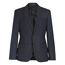 Buy Reiss Ackley Wool and Silk Slim Fit Suit Jacket, Navy Online at johnlewis.com