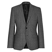 Buy Reiss Morrow Wool Slim Fit Suit Jacket, Charcoal Online at johnlewis.com