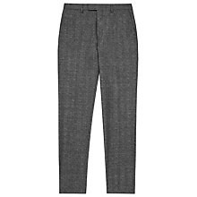 Buy Reiss Morrow Wool Slim Fit Suit Trousers, Charcoal Online at johnlewis.com