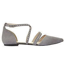 Buy Mint Velvet Becky Two Part Pumps, Grey Online at johnlewis.com