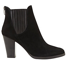 Buy Mint Velvet Harri Block Heeled Ankle Boots, Black Online at johnlewis.com