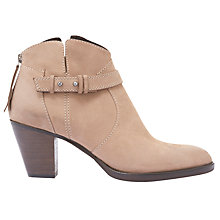 Buy Mint Velvet Esme Block Heeled Ankle Boots Online at johnlewis.com