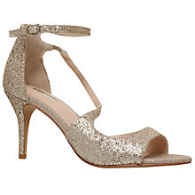 Buy Carvela Gamma Asymmetric Embellished Stiletto Sandals Online at johnlewis.com